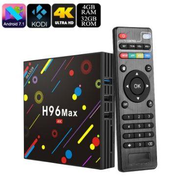 Smart TV Box H96