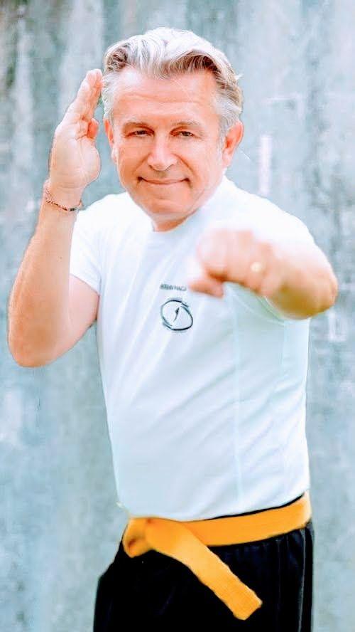 Guillaume CAMARD Ceinture jaune FEKM responsable de la communication KMP